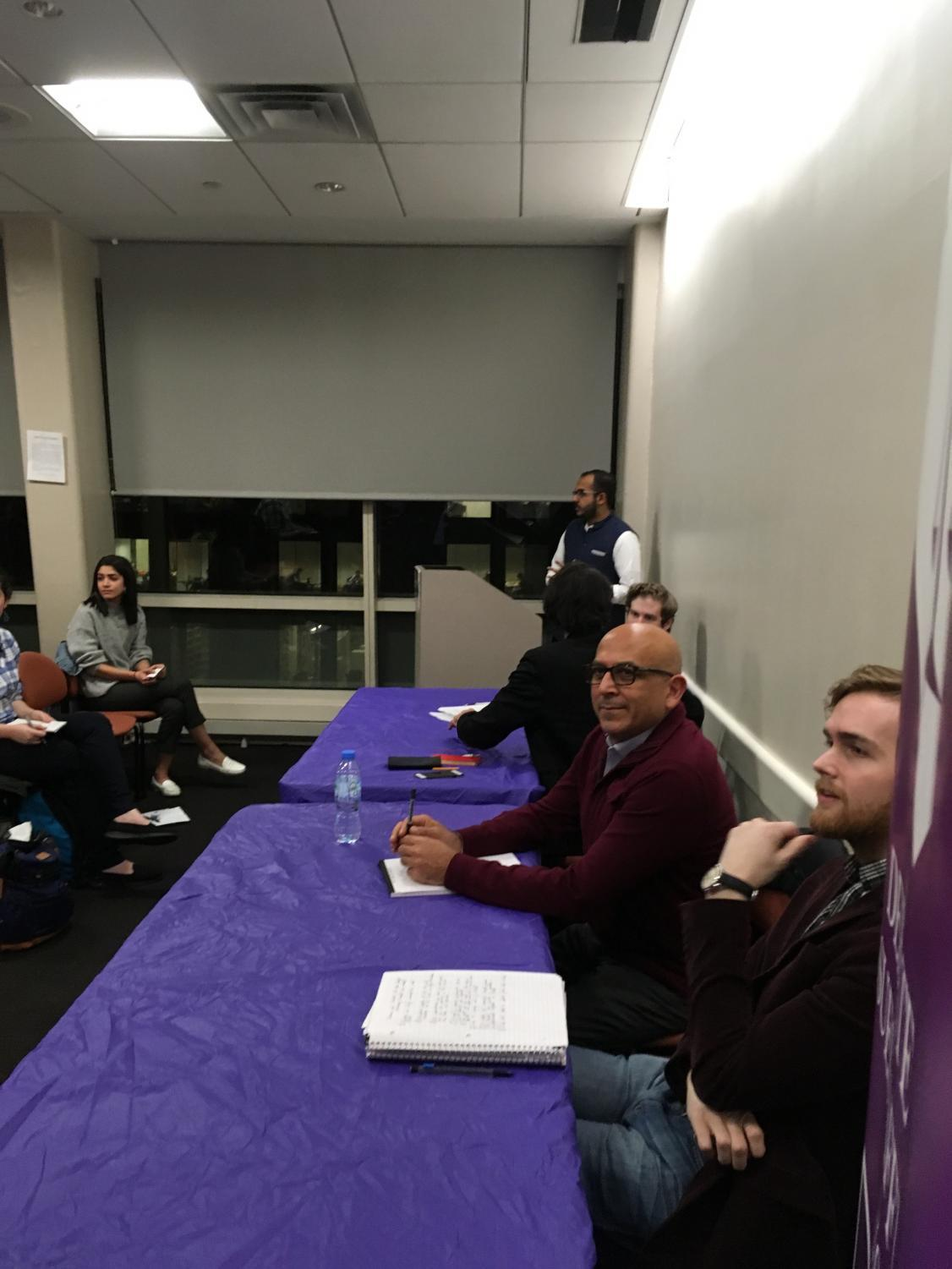 The Review and Debates hosted a discussion about whether or not students thought NYUAD was a mistake.