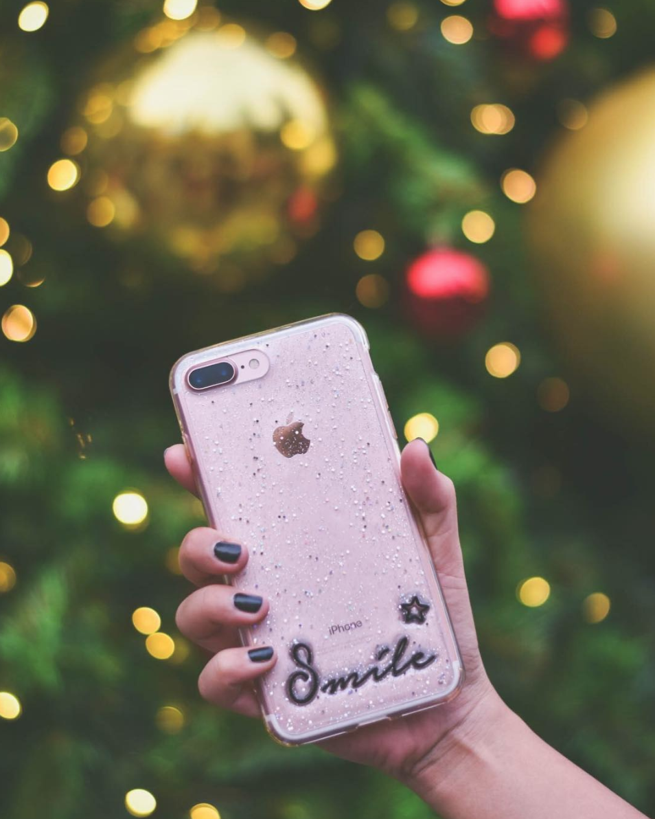 For those addicted to their cell phones, craft a customized phone case to showcase a picture, drawing or pressed flowers.