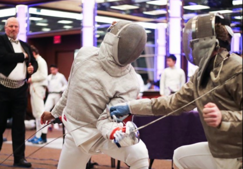 Fencing Standout: Bobby Cottingham