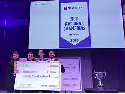NYU Stern Beats MIT, Dartmouth at MBA Case Competition