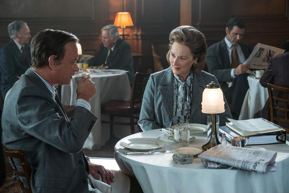 'The Post' stars Meryl Streep and Tom Hanks. The film tells the story of the Pentagon Papers scandal, and the journalists who challenged the Nixon administration in order to expose government corruption.