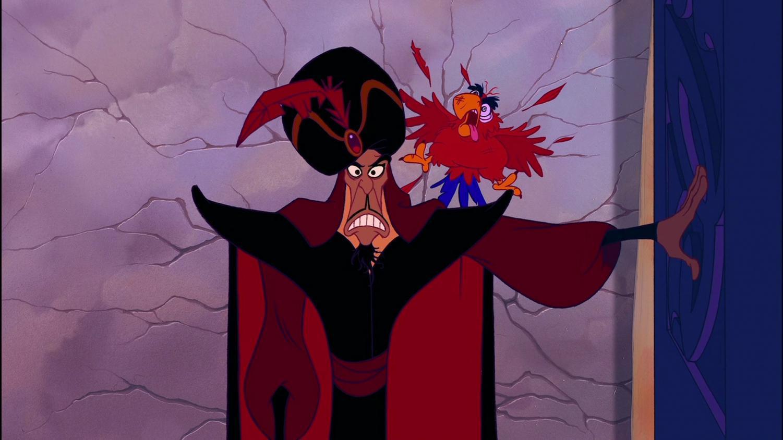 A scene from the 1992 Disney film Aladdin.