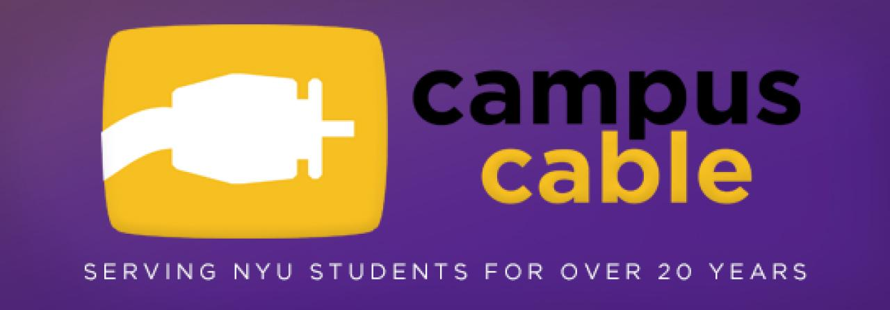 NYU provides students with a number of online resources, including campus cable from Philo.