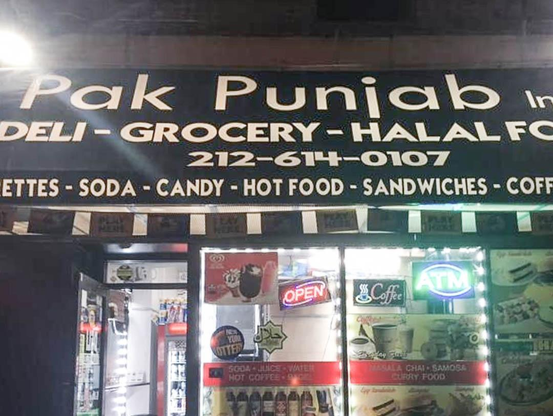 Pak Punjab Deli and Grocery on 2nd Avenue in the East Village.