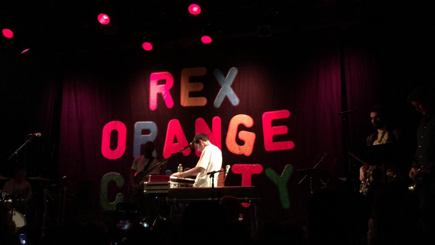 19-year-old Rex Orange County made his US debut to a sold-out show at the Music Hall of Williamsburg on Feb. 6.