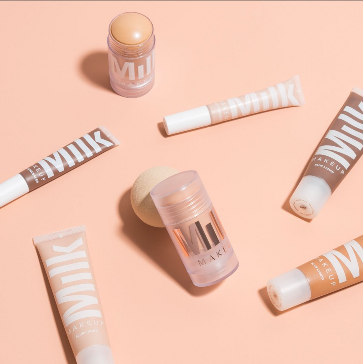 Milk Makeup offers foundations and creams for the new dewy makeup trend.