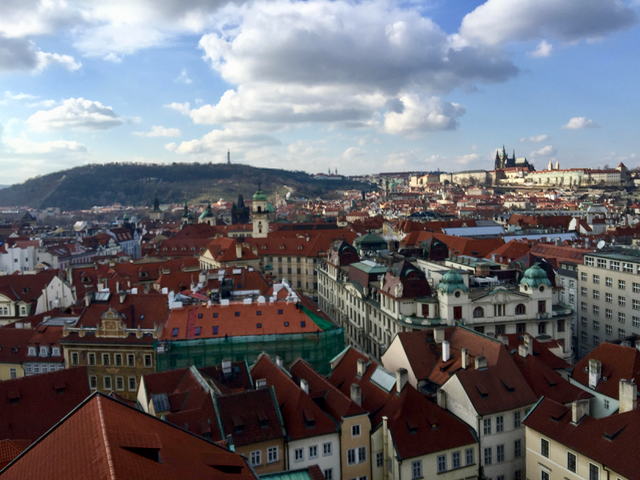 An image of the Prague skyline.