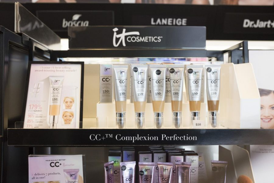 IT+Cosmetics+display+of+the+Your+Skin+But+Better%E2%84%A2+CC%2B%E2%84%A2+Cream+with+SPF+50%2B+at+Sephora+Union+Square.