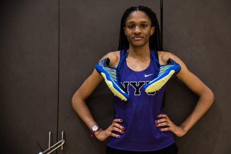 Track and Field Sophomore Evelyn Nkanga Earns All-American Honors