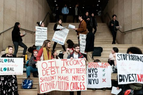 Divest and SLAM Relocate to Kimmel, Escalate Occupation