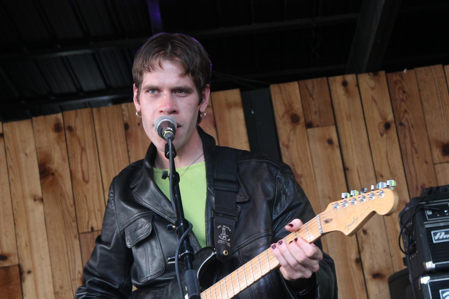 Porches' frontman Aaron Maine performing at South by Southwest earlier this month.