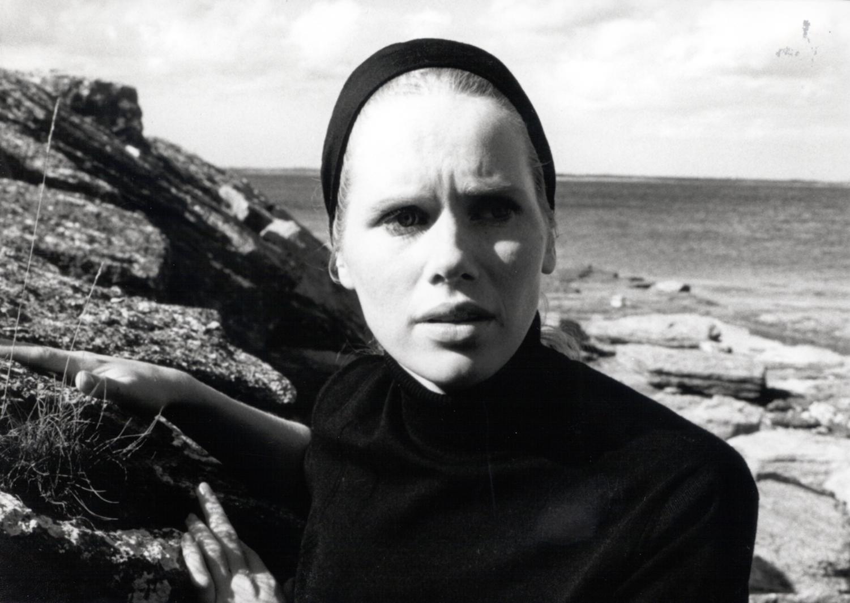 Elisabet Vogler, played by Liv Ullman, in 'Persona' by Ingmar Bergman. Until Mar. 15, Film Forum will be showing 30 of Bergman films in his memory.