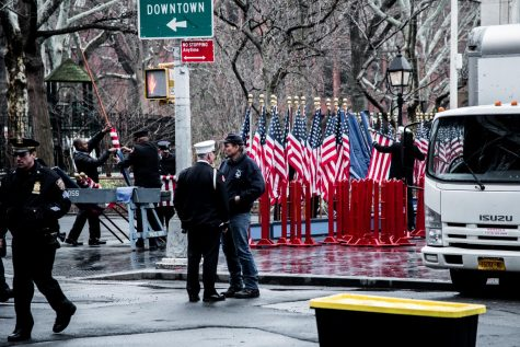 Fallen NYU Fireman Honored by New York Community