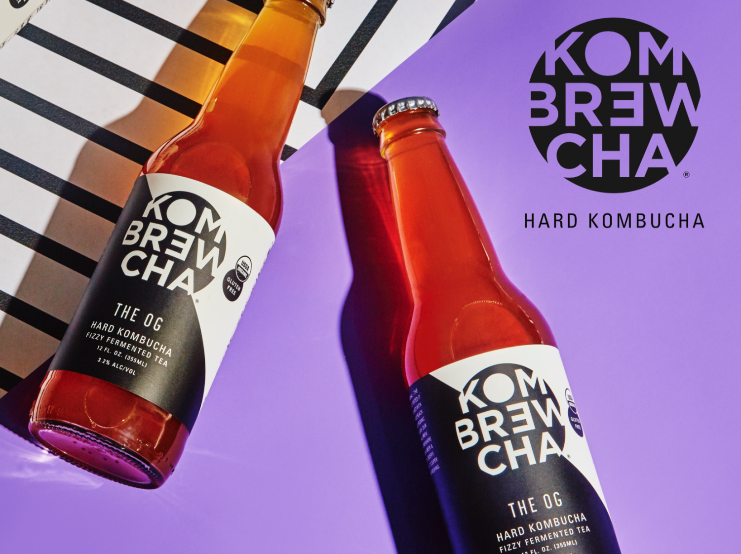 Kombrewcha is the first hard kombucha to launch in the United States.