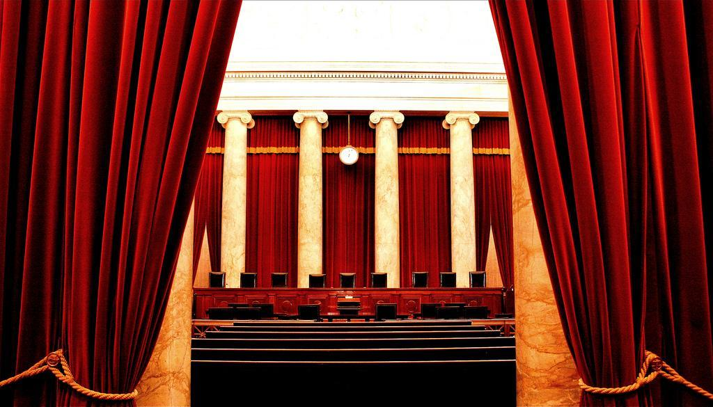 Inside the Supreme Court of the United States.
