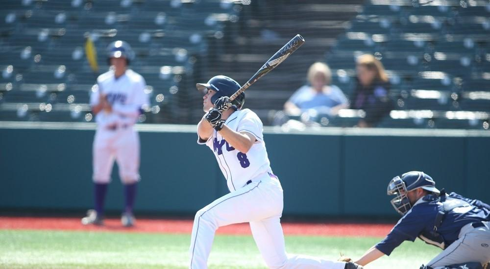 Stern Junior Jack Walter hit a home run in the second inning helping to lead the NYU baseball team to 15-1 win over RPI on April 8.