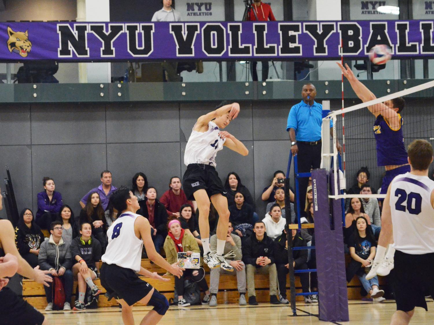 The Men's Volleyball game on March 20.