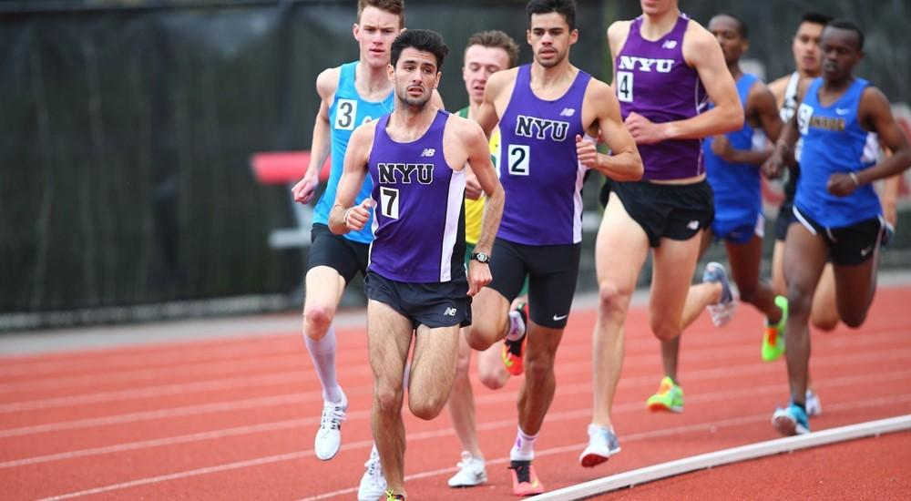 Stern senior Max Mudd won the UAA 10,000-Meter Championship for the men's track & field team on April 28.