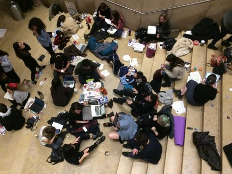 19 Student Activists Defy Administration, Occupy Kimmel Overnight