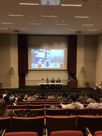 Campus Political Clubs Engage in Heated Debate on Internet Privacy, Tariffs