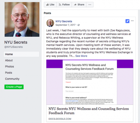 Part Moderator, Part Activist — NYU Secrets Admin Seeks Improved Student Health