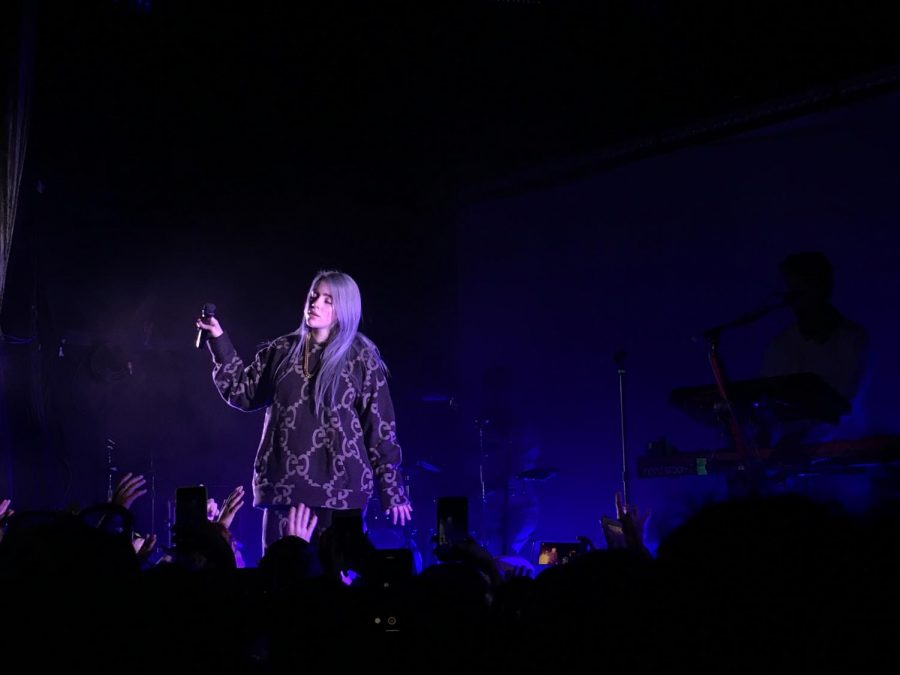 16-year-old+pop+star+Billie+Eilish+plays+a+sold-out+show+at+The+Bowery.