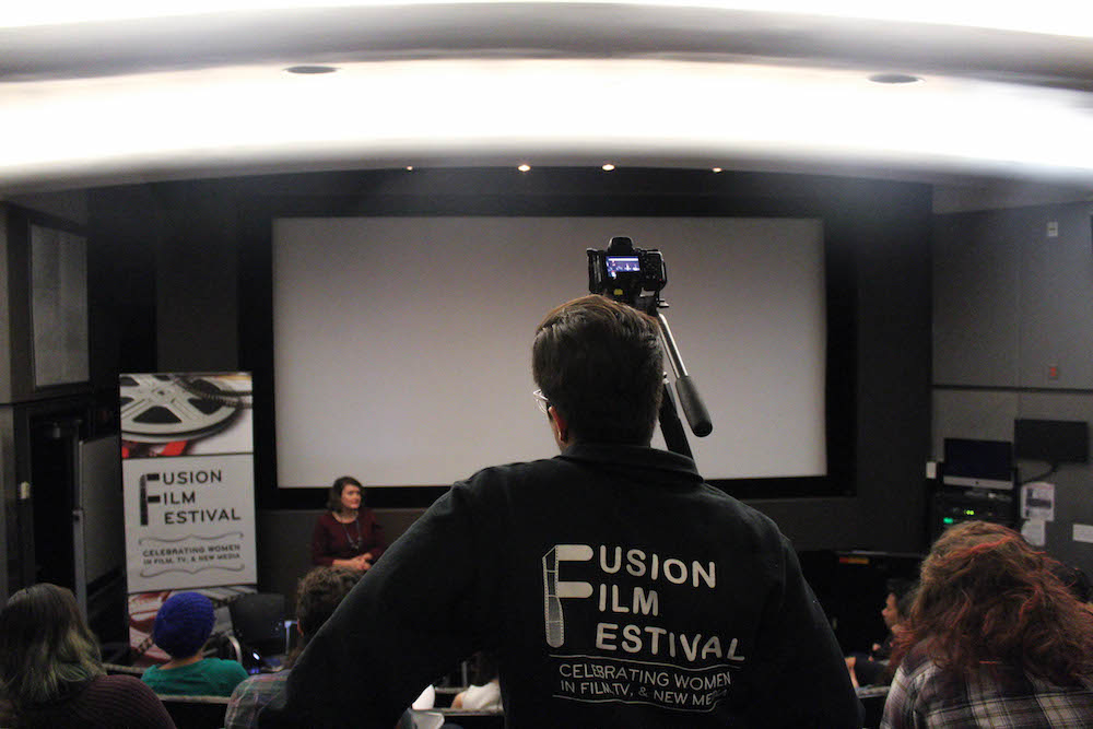 Fusion Film Festival is an annual festival run by Tisch students and faculty that promotes women in the film industry.