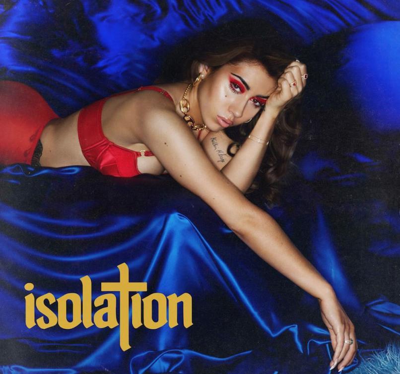Kali+Uchis%27+debut+album+%22Isolation%22.