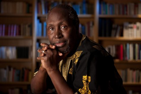 Ngũgĩ wa Thiong'o Speaks At East Village Festival
