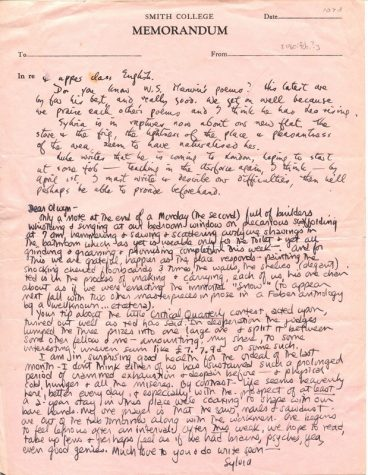 The Long Lost Letters of Sylvia Plath