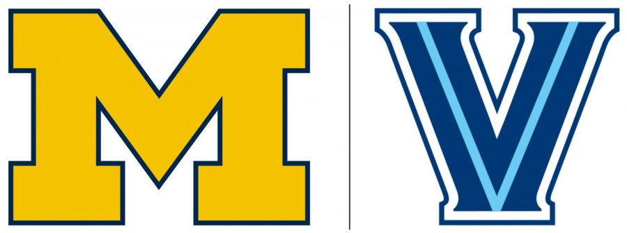 The+Michigan+Wolverines+and+Villanova+Wildcats+will+face+off+in+the+NCAA+Final+on+Apr.+2.