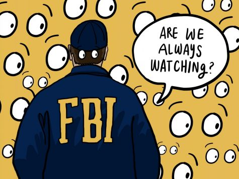Wave to the Camera: The FBI Is Watching
