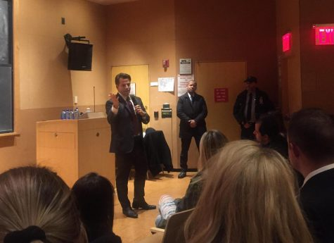 Anthony 'The Mooch' Scaramucci Speaks to NYUCR