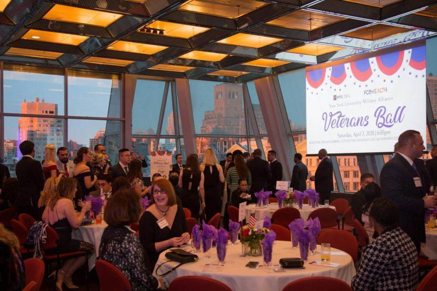 The+third+Annual+Veterans+Ball+took+place+on+April+7+in+Kimmel+Rosenthal.