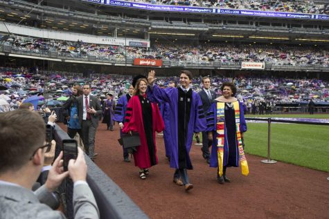 NYU's Class of 2018 Shines Through the Showers at 186th Commencement