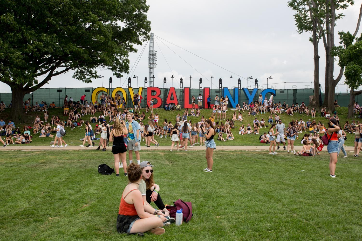 Sign from this year's Governors Ball