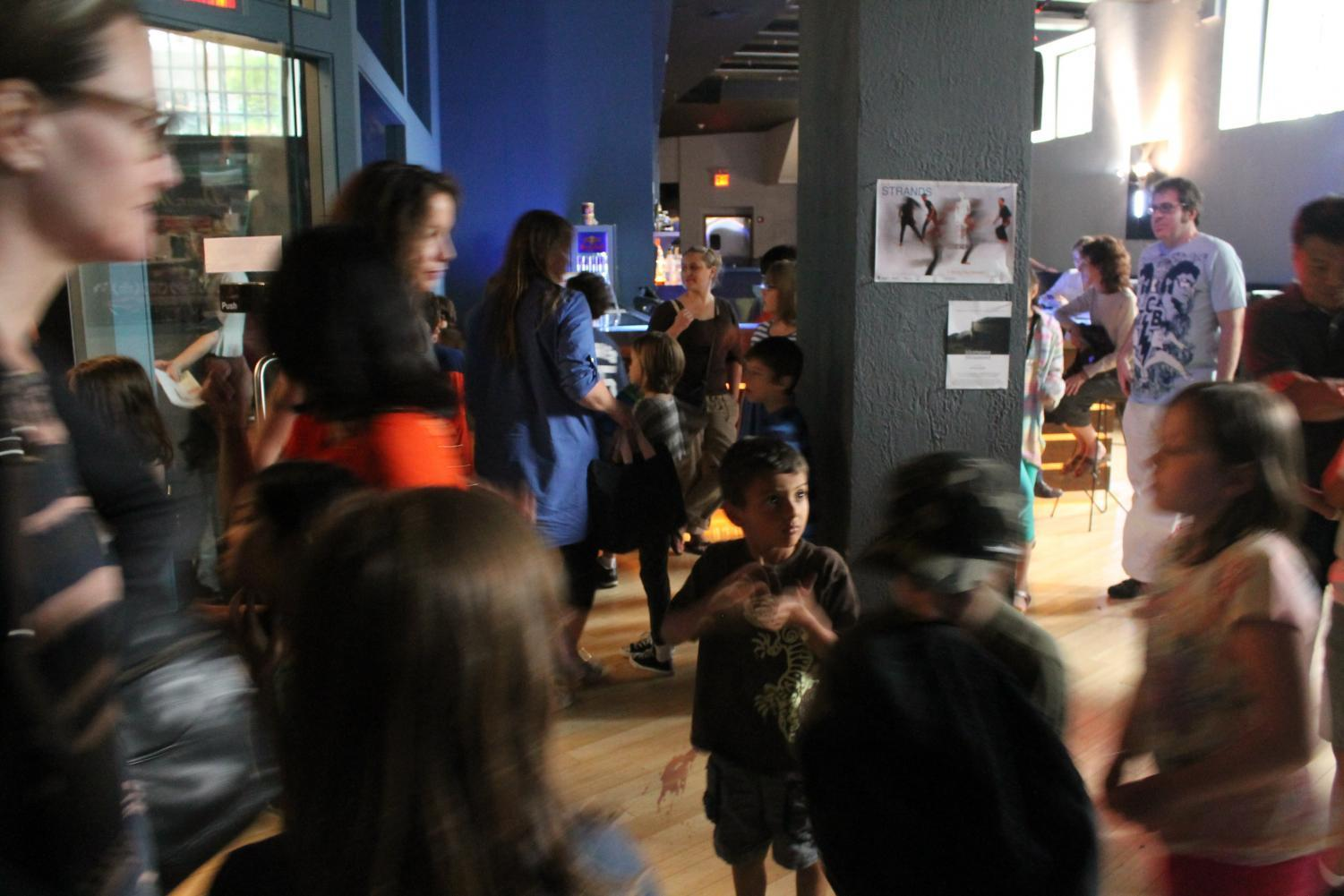 Young filmmakers at the 13th Annual KidsFilmFest.