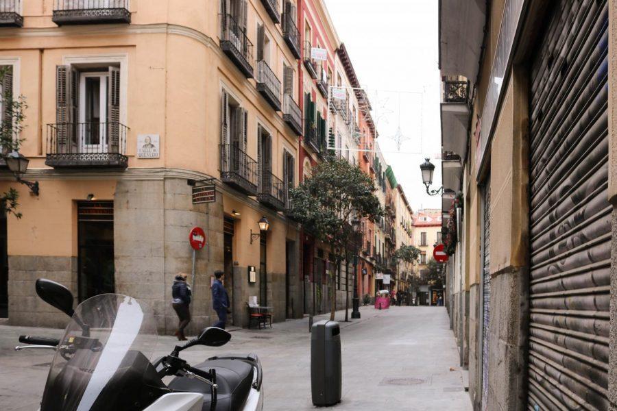 A+street+in+Madrid.