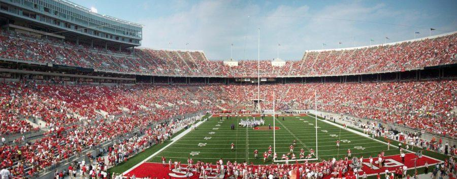 Ohio+State+Stadium+on+game+day.