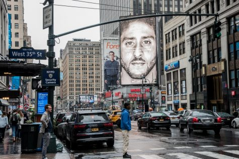 Students Stand With Colin Kaepernick's Nike Ad