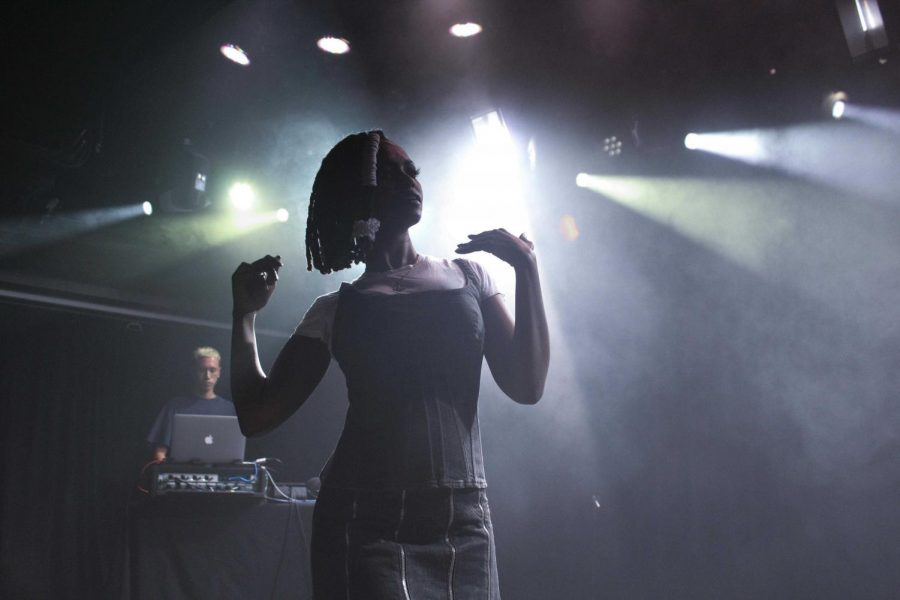 Kelela+performing+at+the+2016+Mystery+Concert.