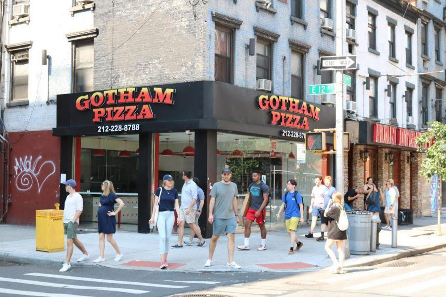 Gotham+Pizza%2C+opposite+Third+North+Residence+Hall%2C+has+served+its+last+pie.