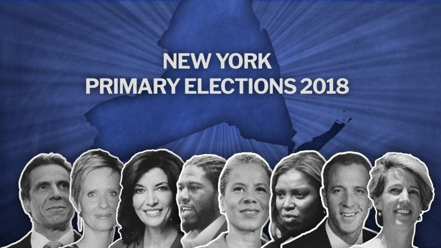 New+York+Primary+Elections+are+happening+tomorrow.+Candidates%2C+from+left+to+right%3A+Andrew+Cuomo+and+Cynthia+Nixon+running+for+the+state+governor%3B+Kathy+Hochul+and+Jumaane+Williams+running+for+lieutenant+governor%3B+Leecia+Eve%2C+Letitia+James%2C+Sean+Patrick+Maloney+and+Zephyr+Teachout+running+for+attorney+general.