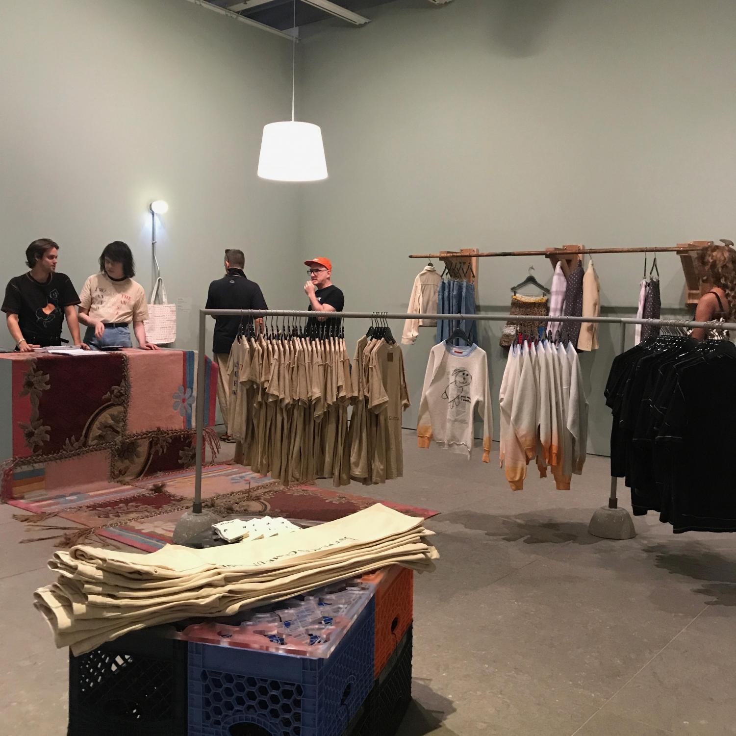 """Eckhaus Latta's """"Possesed"""" exhibit at the Whitney tackles ambiguity and duality."""