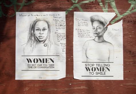 Artist plasters Brooklyn in anti-street harassment posters