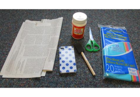 DIY: create your own newsprint iPhone case