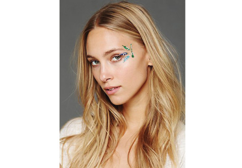 Face gems shine as trending accessory