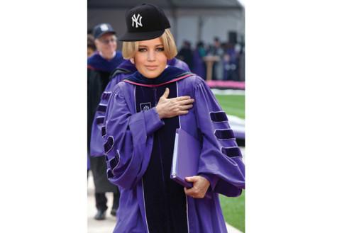 BREAKING: Jennifer Lawrence announced as commencement speaker for class of 2013
