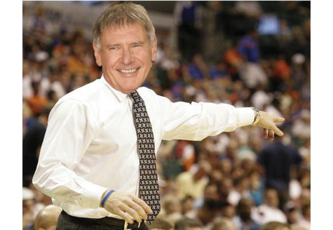 For morale boost, NYU basketball hires Harrison Ford