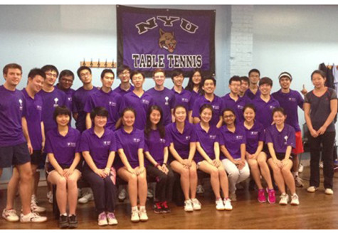 NYU table tennis team wins titles throughout Northeast